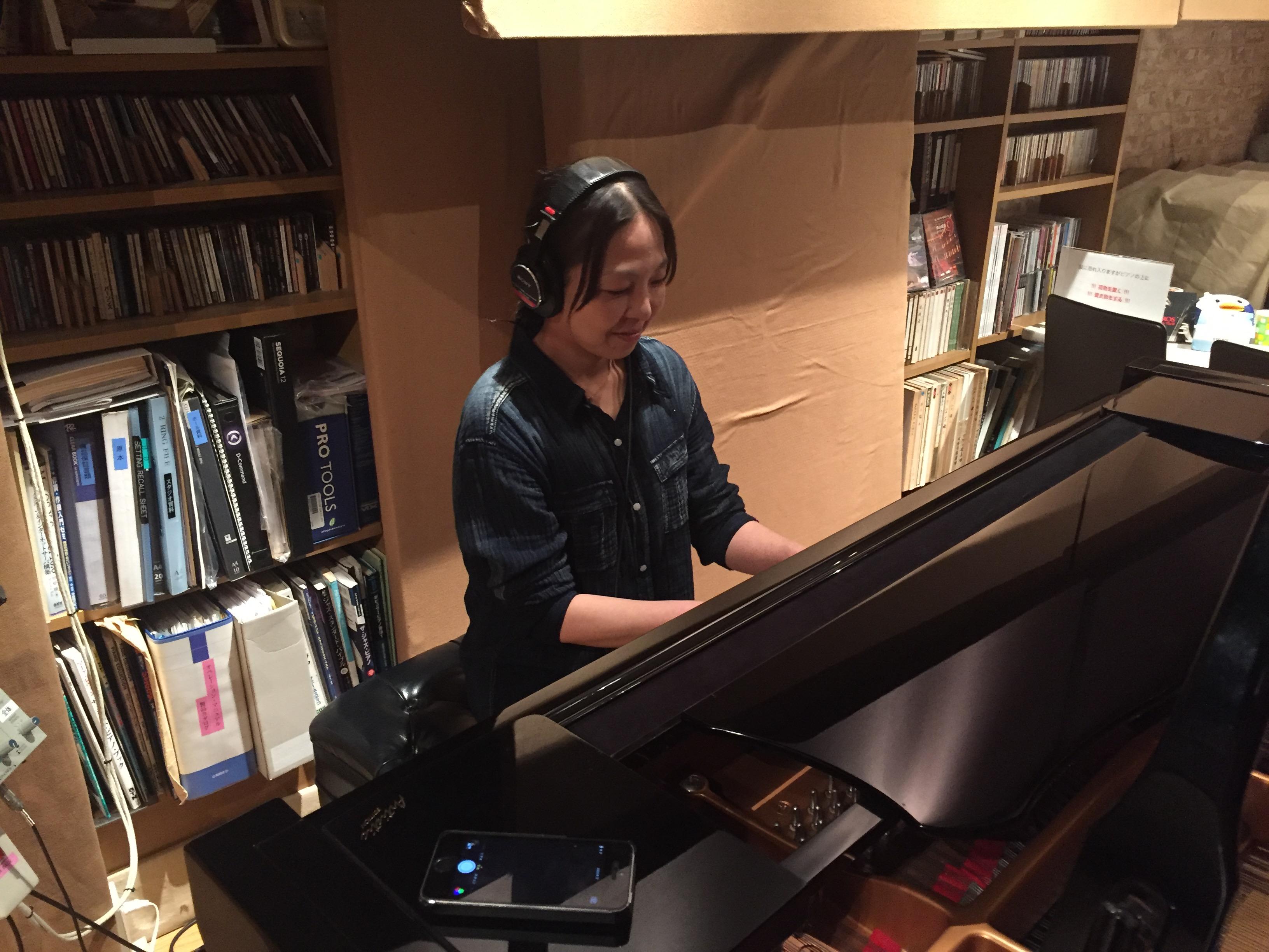 ヴァイオリン & ピアノDUO レコーディング