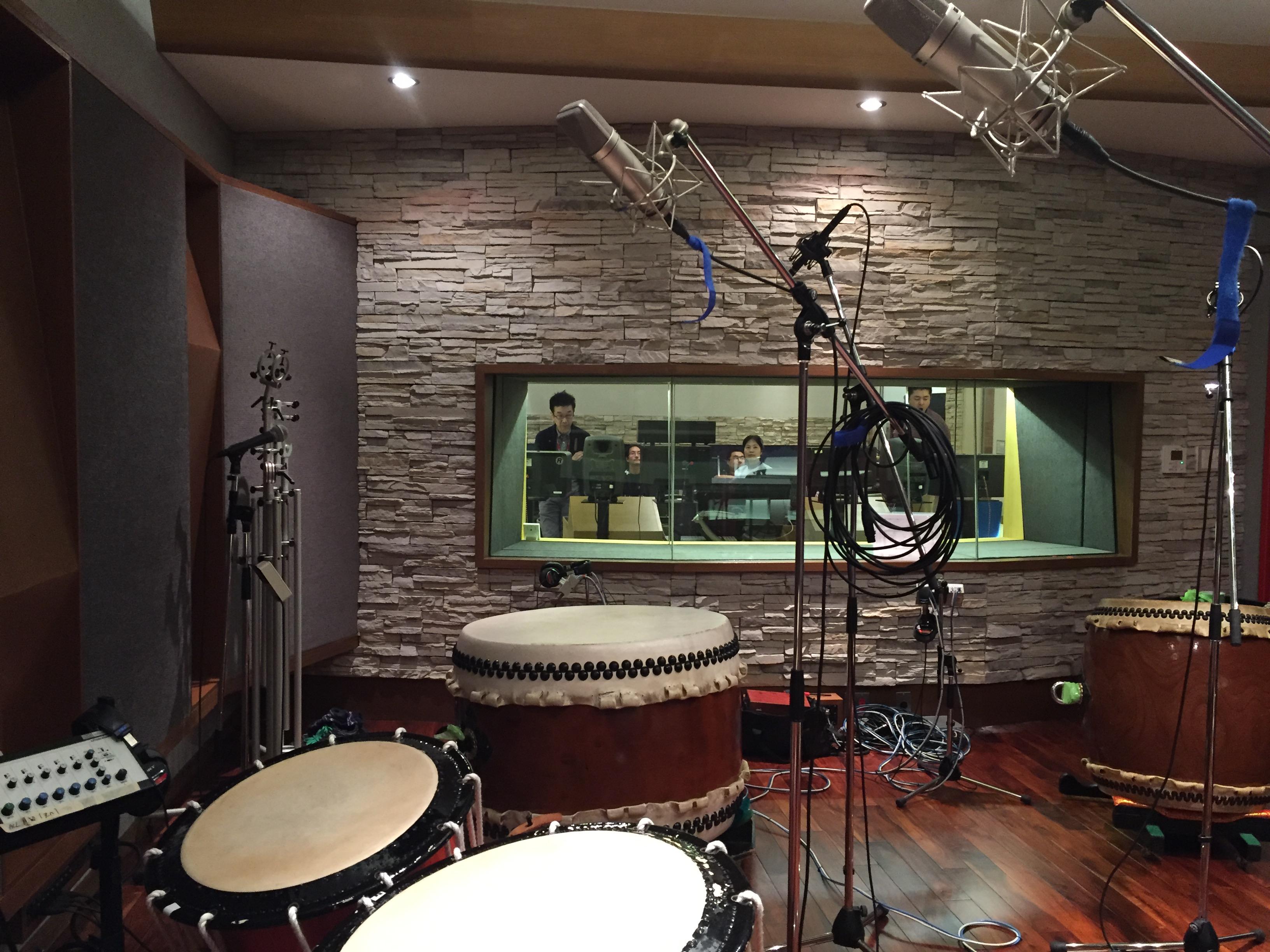 和太鼓 & 邦楽器「打歓人」 レコーディング セッション