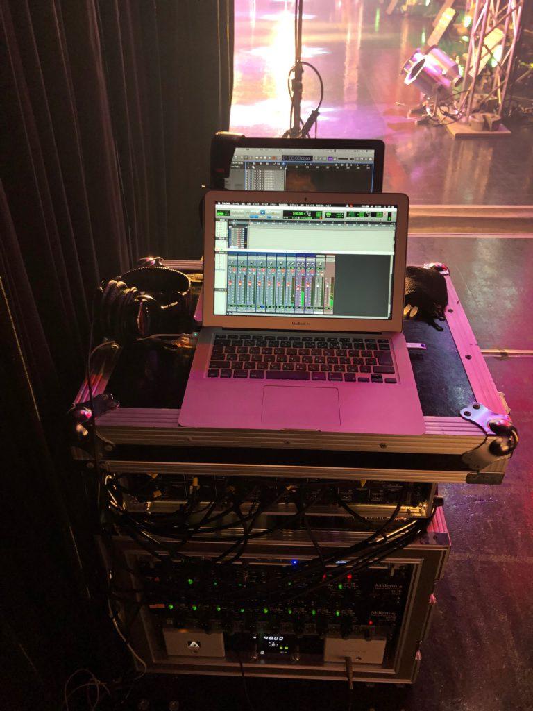 Zepp名古屋に組んだライブレコーディングシステム